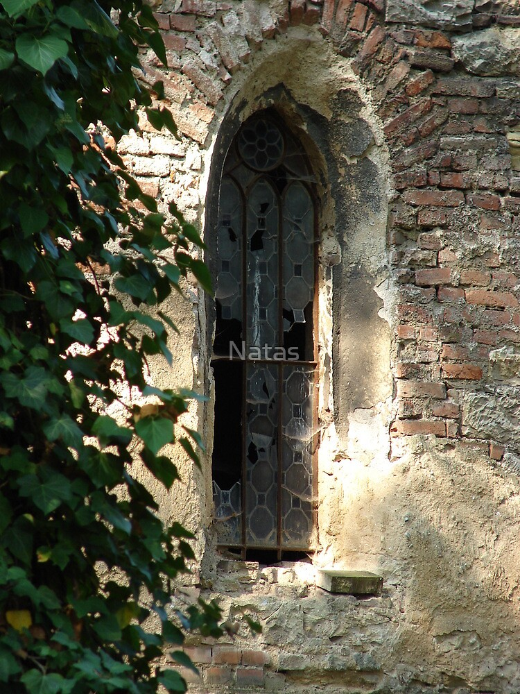 Window as the gateway to the soul by Natas
