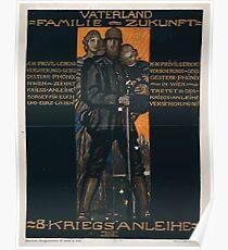 Vaterland Familie Zukunft 8 Kriegsanleihe 944 Poster