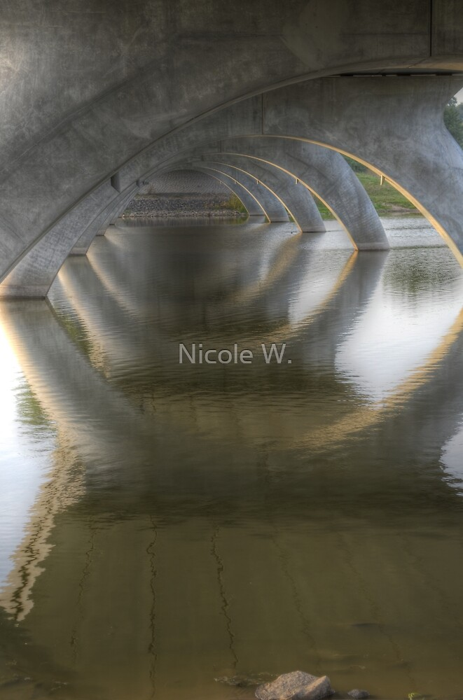 Under the bridge by Nicole W.