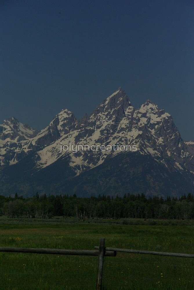 Grand Teton  by jolynncreations