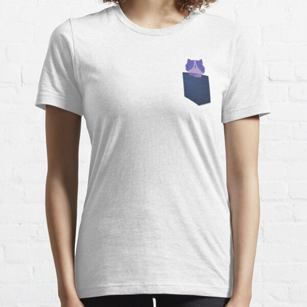 Funny Cat in Pocket Essential T-Shirt