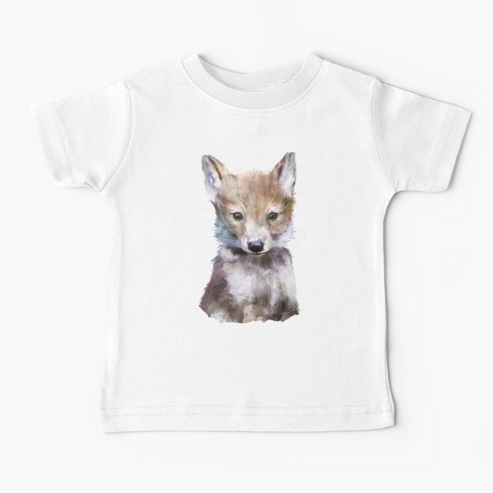 Little Wolf Baby T-Shirt