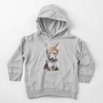 Little Wolf Toddler Pullover Hoodie