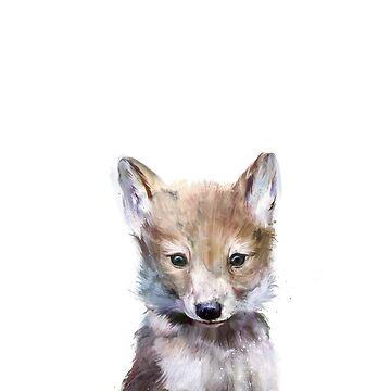 Kleiner Wolf von AmyHamilton