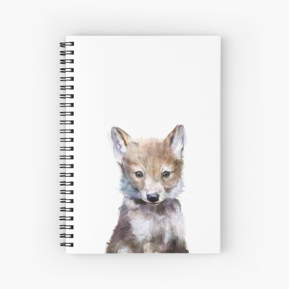 Little Wolf Spiral Notebook