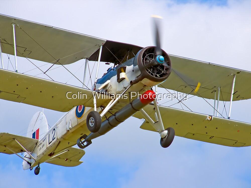 Fairey Swordfish II LS326 - Duxford by Colin  Williams Photography