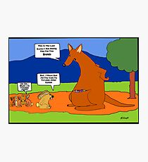 An Australian Easter Story Photographic Print