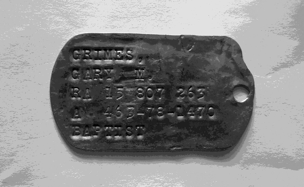 Dog Tag (The Second Indochina War) by Carsten  Ottesen