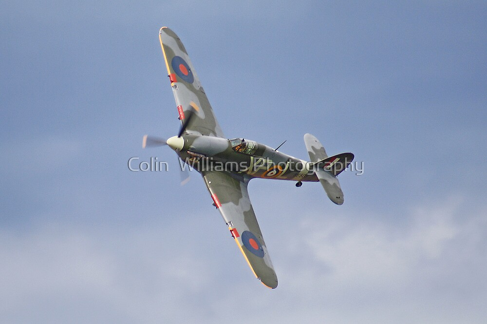 Hawker Hurricane - Wings & Wheels Dunsfold - 2012 by Colin  Williams Photography