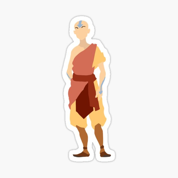 Aang | Avatar: The Last Airbender (without Name) Sticker