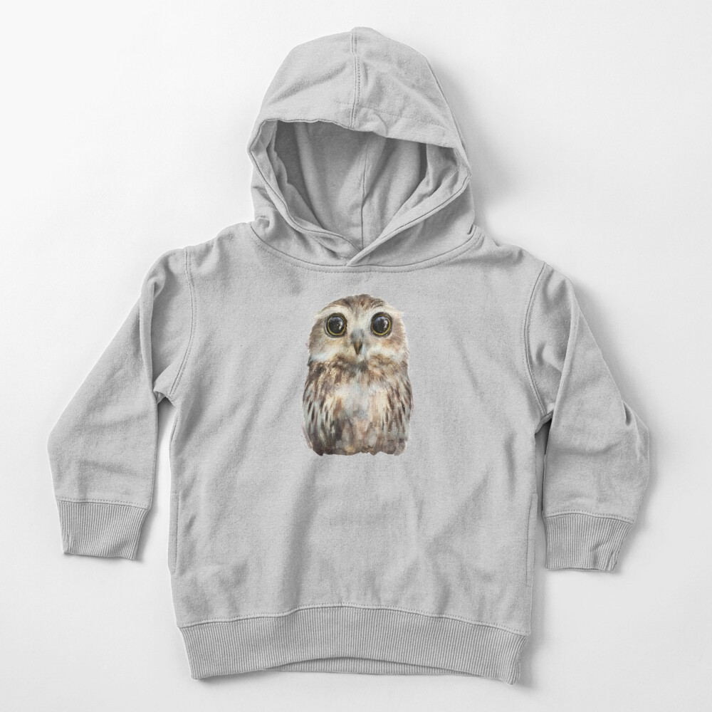 Little Owl Toddler Pullover Hoodie