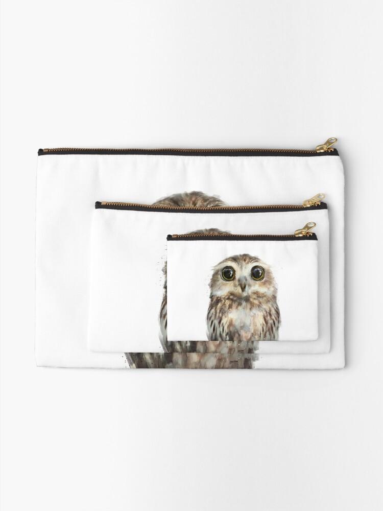 Alternate view of Little Owl Zipper Pouch