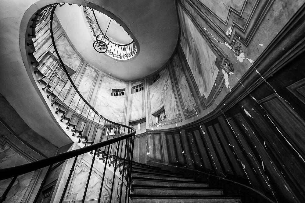 Parisian staircase  by KeithMcInnes
