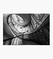 Parisian staircase  Photographic Print