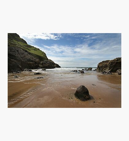 Mewslade Bay - Wales Photographic Print