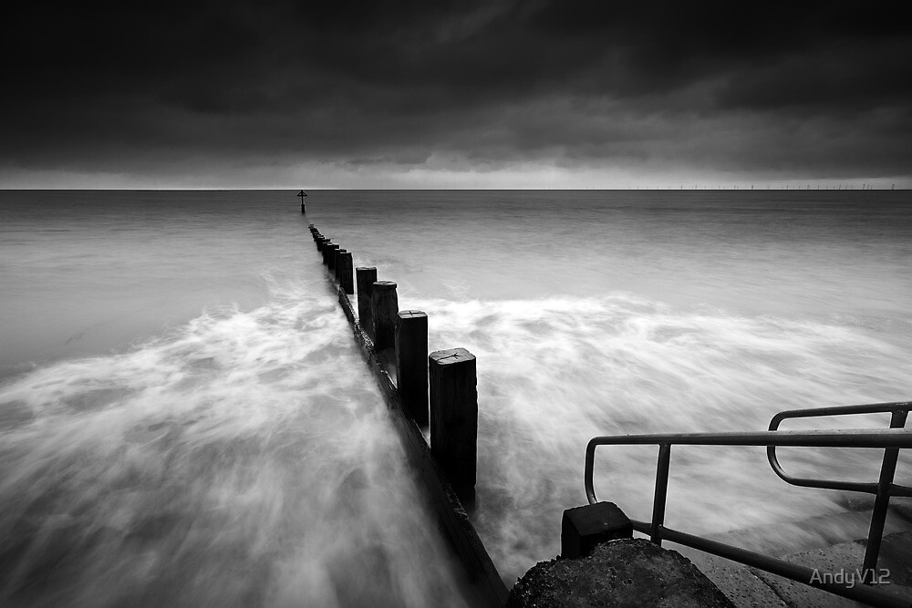 The Last Post BW by Andy Freer