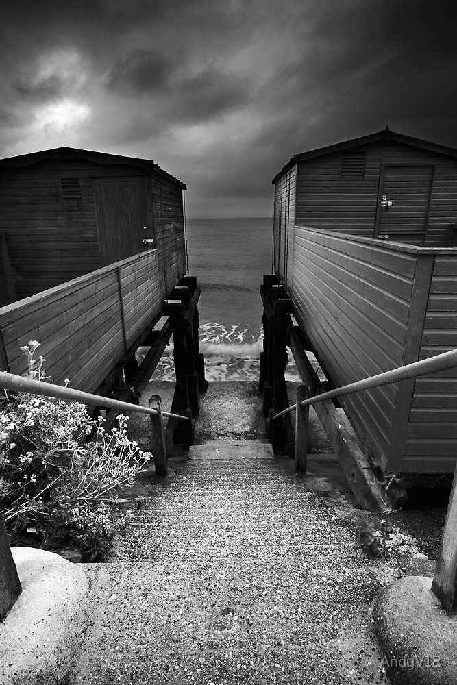 Between You and Me, Steps Have Been Taken... BW by Andy Freer