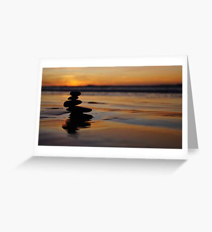 To Find Balance Greeting Card
