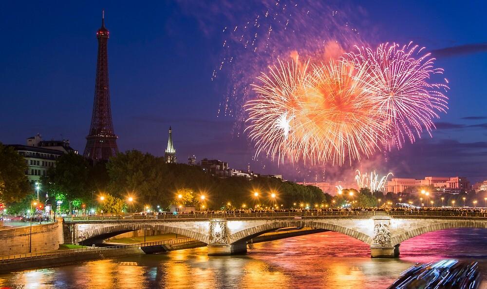 Bastille Day in Paris by KeithMcInnes