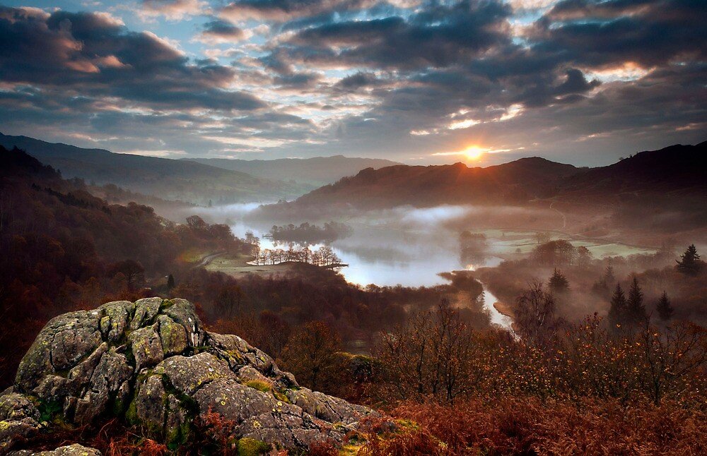autumn sunrise by paul mcgreevy