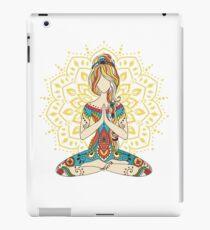 Yoga Om Chakras Mindfulness Meditation Zen 4 iPad Case/Skin