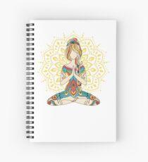 Yoga Om Chakras Mindfulness Meditation Zen 4 Spiral Notebook