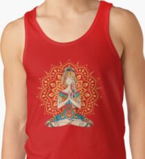 Yoga Om Chakras Mindfulness Meditation Zen 4 Tank Top