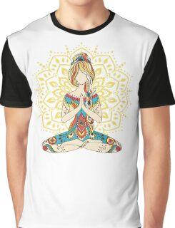 Yoga Om Chakras Mindfulness Meditation Zen 4 Graphic T-Shirt