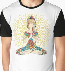 Yoga Om Chakras Mindfulness Meditation Zen 4 Graphic T-Shirt