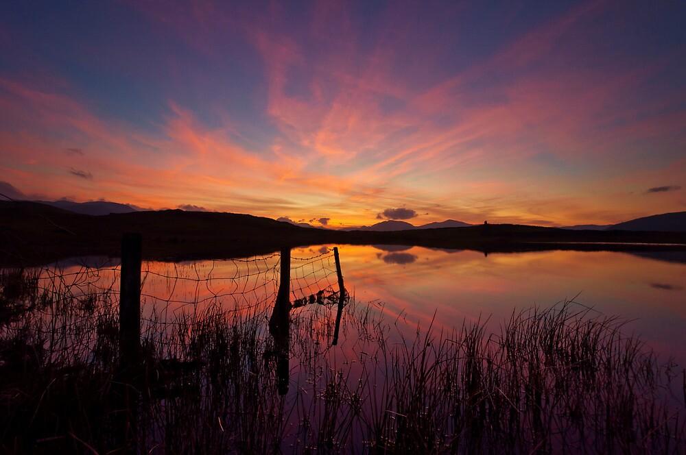 sunset tewet tarn by paul mcgreevy
