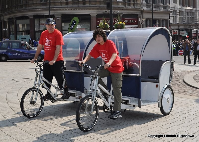 Take a look around to see our Guerrilla London Rickshaws by sayconnor143