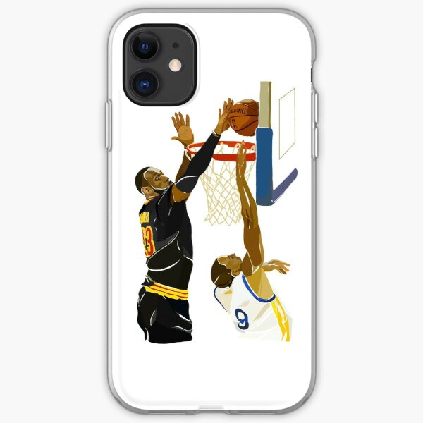 Lebron James' Greatest Block iPhone Soft Case