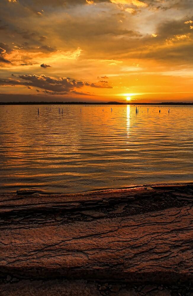 Superior Sunset by Carolyn  Fletcher