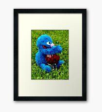 Selfish Grover Framed Print