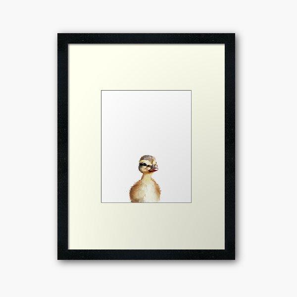 Little Duck Framed Art Print