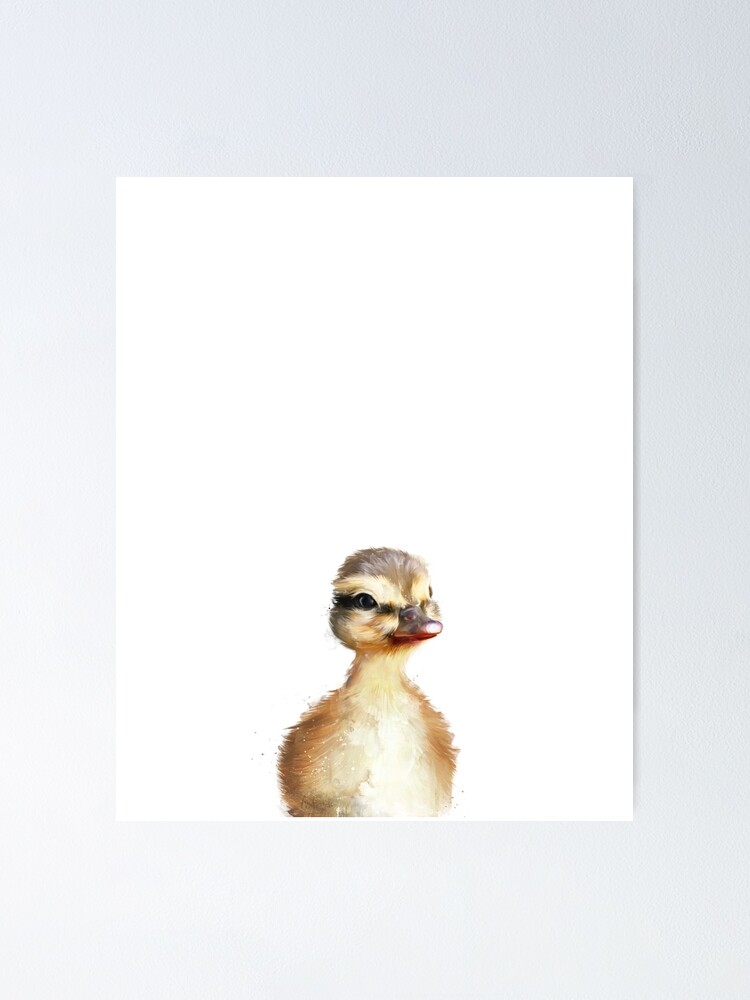Alternate view of Little Duck Poster