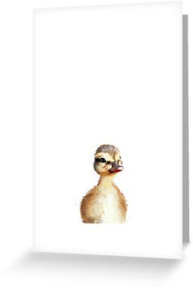 Kleine Ente von Amy Hamilton