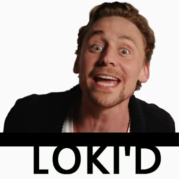 LOKI'D (Colour - Black Text) by Nettie121