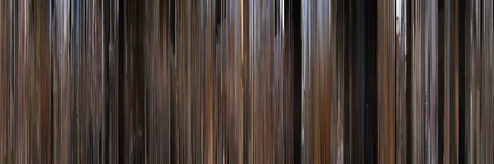Moviebarcode: Bonnie and Clyde (1967) by moviebarcode