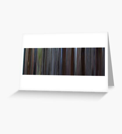 Moviebarcode: About a Boy (2002) Greeting Card