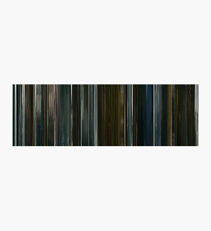Moviebarcode: Harry Brown (2009) Photographic Print