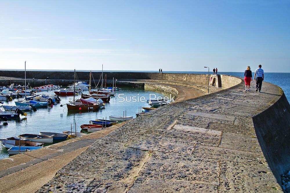 Morning Stroll ~ Lyme Regis by Susie Peek