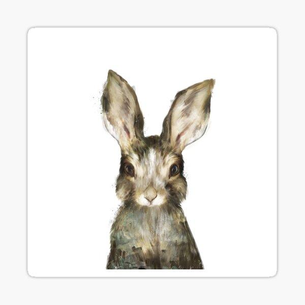 Pequeño conejo Pegatina