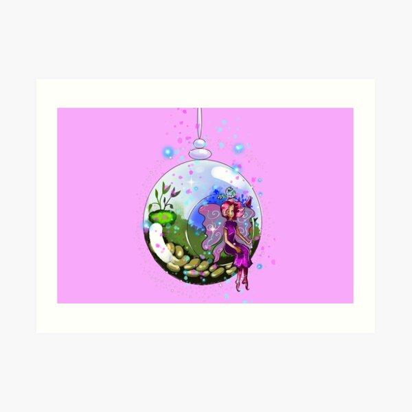 Idalis the Indoor Gardening Fairy™ Art Print