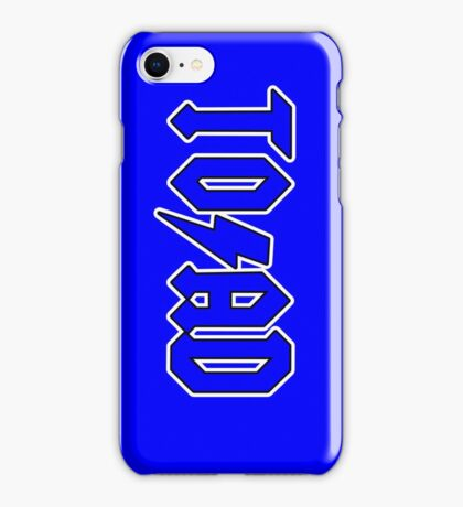 TO/AD (c) iPhone Case/Skin