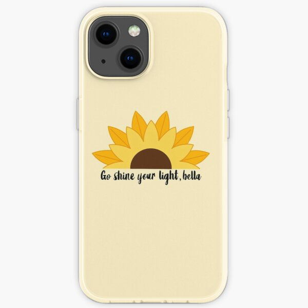 Sonnenblumen Marina | Maya Bishop | Carina DeLuca iPhone Flexible Hülle