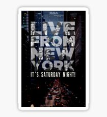 Live From New York, Saturday Night Live Sticker