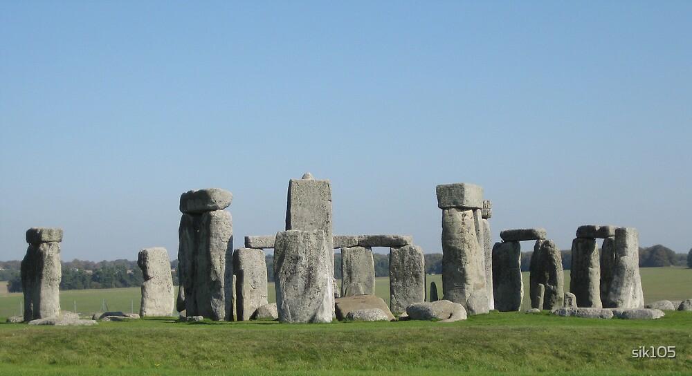 Blue Stonehenge by sik105