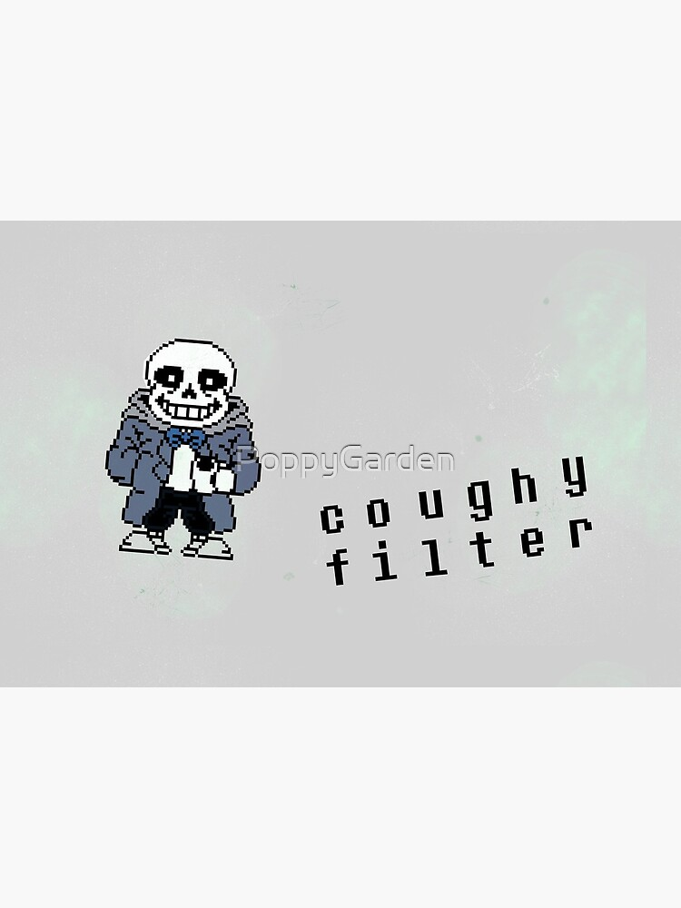 Sans Mask So Pun but less text-y by PoppyGarden