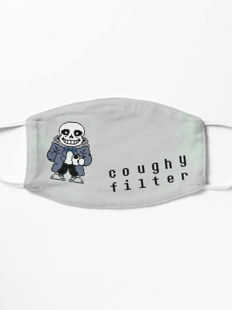 Alternate view of Sans Mask So Pun but less text-y Mask